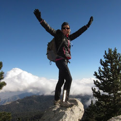 Donna climbs to the peak of Mt. San Jacinto in Palm Springs!