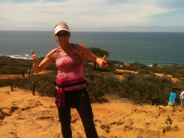 Birthday Run at Torrey Pines State Park